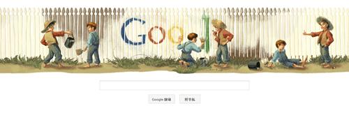 [Google Doodle] 馬克吐溫(Mark Twain)176歲誕辰 mark-twain-02