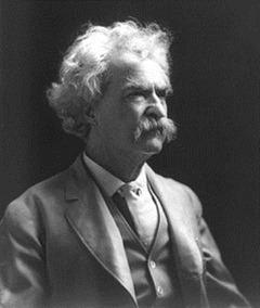 [Google Doodle] 馬克吐溫(Mark Twain)176歲誕辰 mark-twain