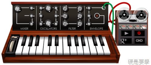 [Google Doodle] Robert Moog 電子合成器之父 78 歲誕辰(教你怎麼玩) minimoog-2