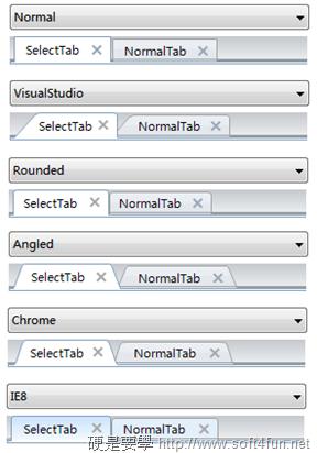 讓你的 Word、Excel、PowerPoint 也有分頁功能 – OfficeTab (免費版) OfficeTab_Tab_Styles