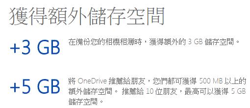 免費讓OneDrive雲端儲存空間激增100GB! onedrive06