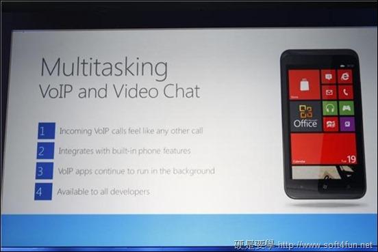 全新 Windows Phone 8 現身! VoIP