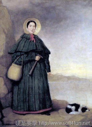 [Google Doodle] Mary Anning 英國古生物學家 215歲誕辰紀念 Mary_Anning_painting