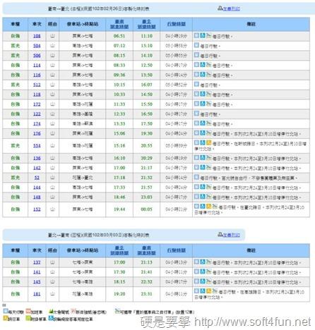 客製化台鐵火車時刻表-03