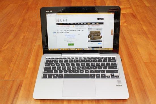 [評測] 變形筆電ASUS Transform T200TA 筆電、平板隨你變 image015