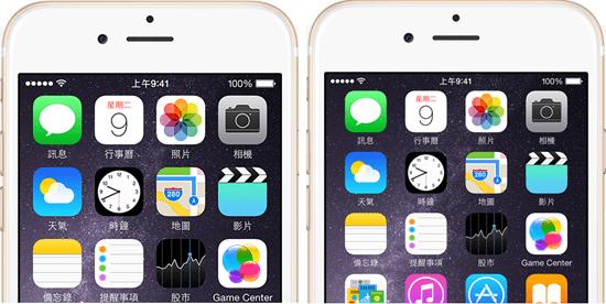 iphone 6 螢幕縮放