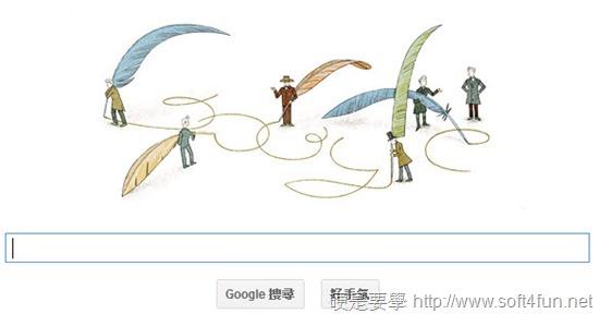 [Google Doodle] Soren Kierkegaard 存在主義之父、丹麥神學家、哲學家200歲誕辰 Soren-Kierkegaard-01