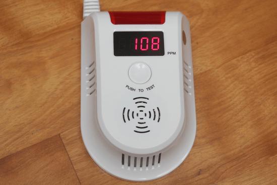預防氣爆!天然氣/瓦斯警報器,即時測報外洩燃氣濃度 -017