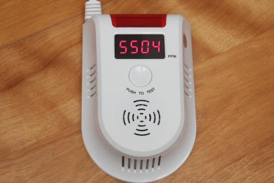 預防氣爆!天然氣/瓦斯警報器,即時測報外洩燃氣濃度 -021