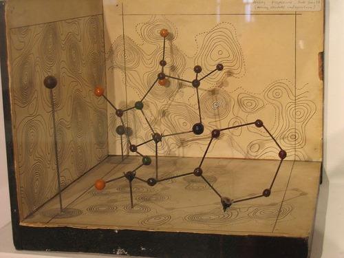 X光晶體學-盤尼西林結構