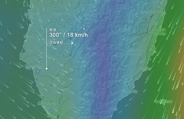 Windytv動態天氣圖,各種天氣、洋流資訊一看就懂 windyty07