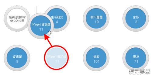 如何調整Google+社交圈捷徑的順序 53e423ccb092