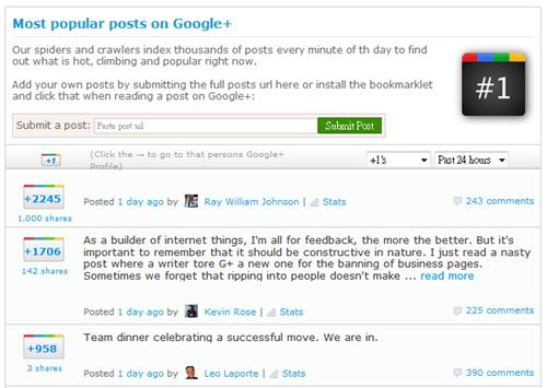 2 款 Google+ 分析統計工具,記錄你的追蹤者變化 Google08