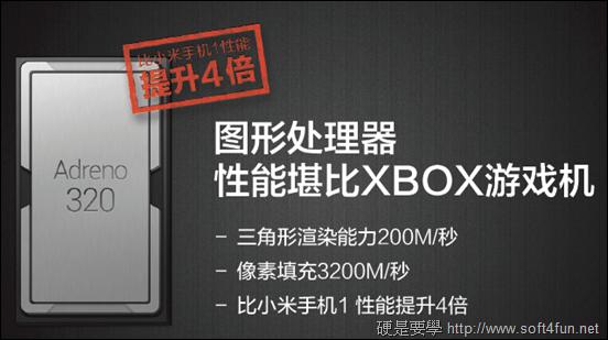 超高 CP 值!高階規格 小米手機 1S 及 2 閃亮登場! 2_GPU