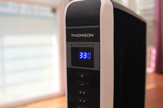 電膜電暖器 THOMSON SA-W02F 開箱評測與心得,寒流取暖必備 thomson24