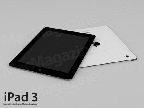 傳 iPad 3 三月發布,搭載A6多核CPU、高解析螢幕及 4G LTE ipad3