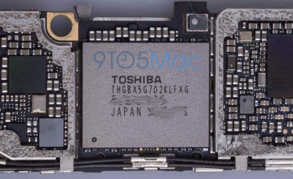 iPhone 6S 進一步消息曝光,NFC、儲存空間、電路板組件 storagechip