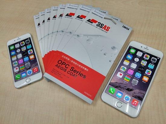 imos 我又來了!iPhone 6/6 Plus 全機包膜/保護貼施工 3sas