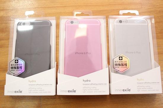 innerexile iPhone 6 Plus 自我修復保護殼 hydra plus,磨了一週竟無刮痕(透明色) iPhone6plus07