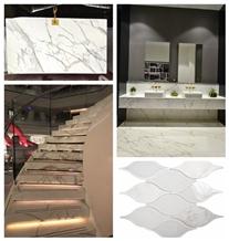 bianco calacatta white marble