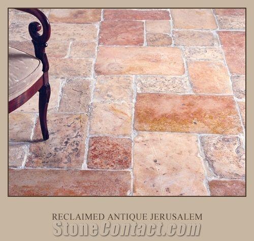 reclaimed antique jerusalem limestone