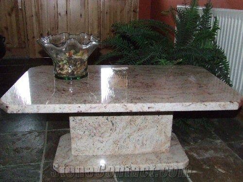 sivakasi pink granite coffee tables