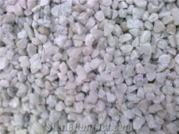 White Marble Stone Landscaping