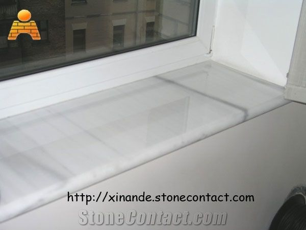 Marble Window Sills White Stone From China