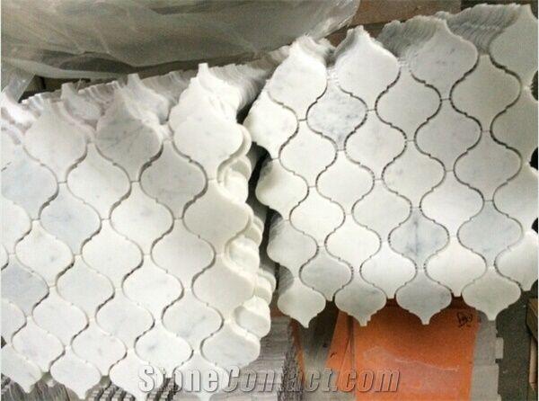 stone arabesque bianco carrara marble