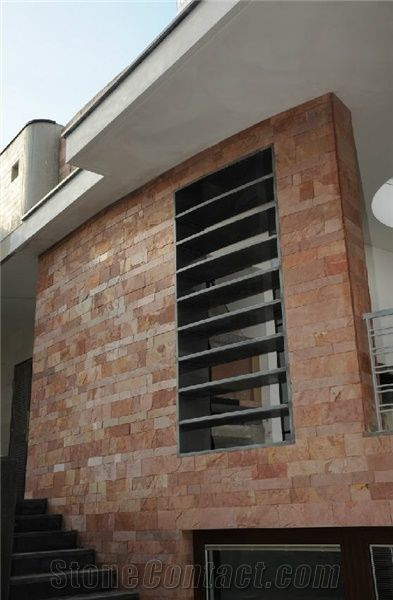 Lalzamin Slate Exterior Wall Tiles India Red Slate From