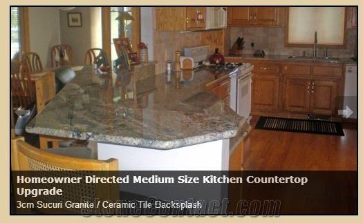 3cm sucuri granite kitchen countertop
