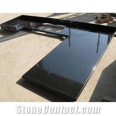 wellest galaxy black granite countertop