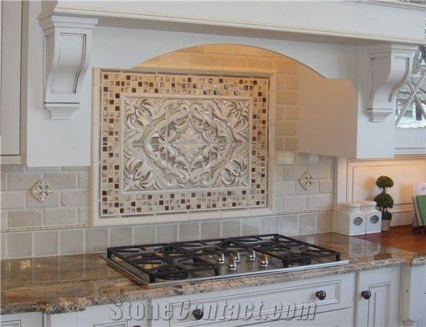 Typhoon Bordeaux Granite Kitchen Countertop Glass Mosaic ... on Typhoon Bordeaux Granite Backsplash Ideas  id=98961