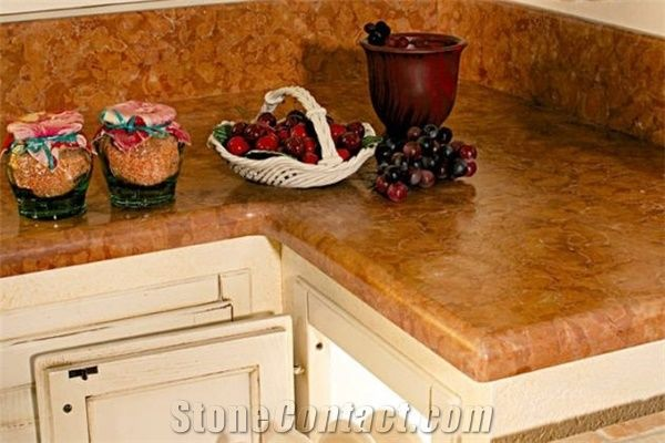rosso verona marble 1 4 top round edge