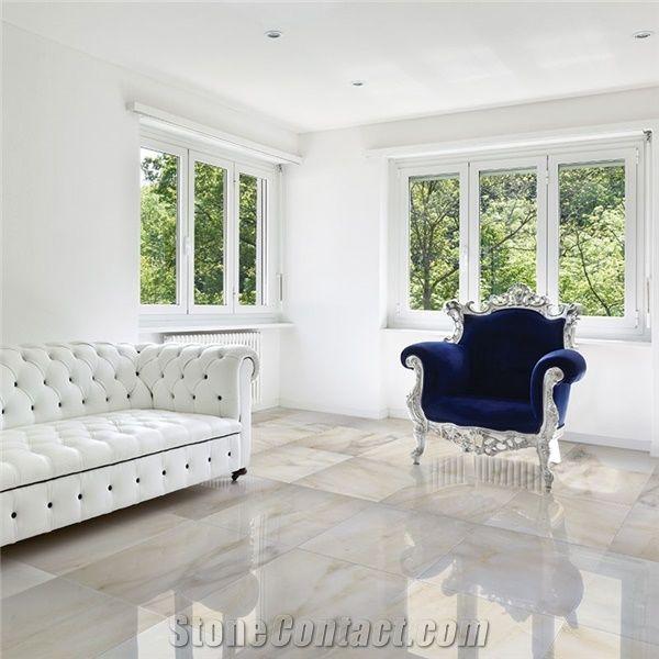 Turkey Calacatta Marble Living Room Flooring