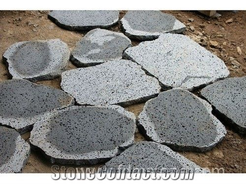 lava stone crazy paver basalt flagstone