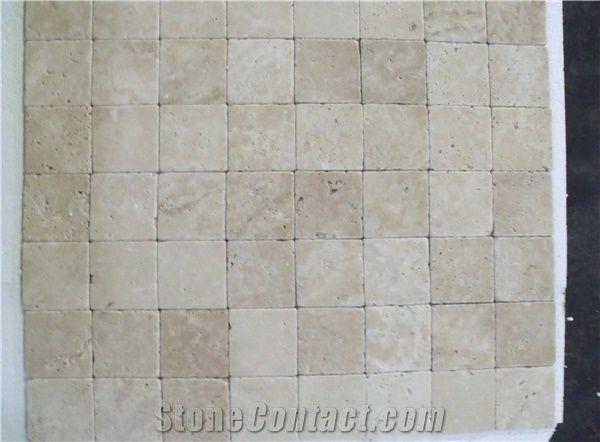4x4 3x6 6x6 eskitme white travertine