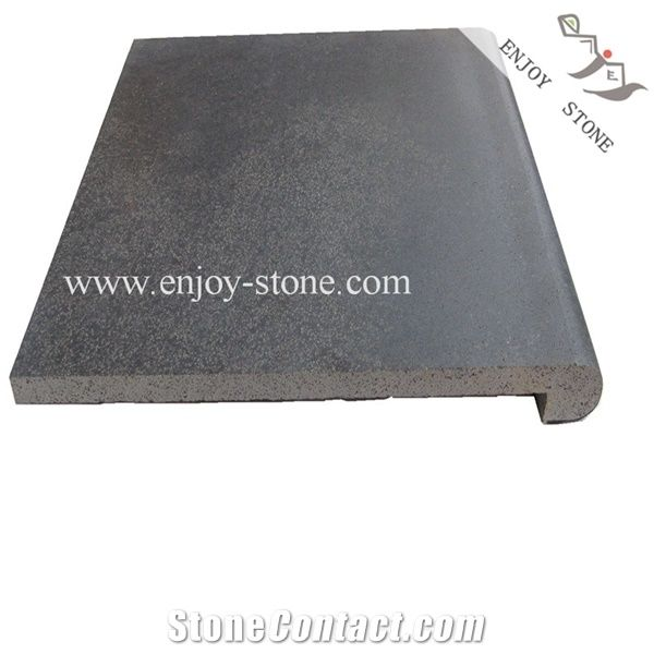 bluestone pool copping tiles grey