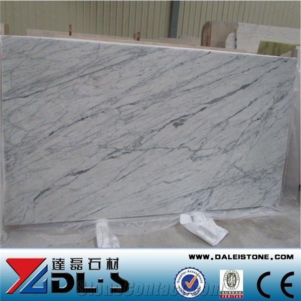 italy bianco carrara white marble honed