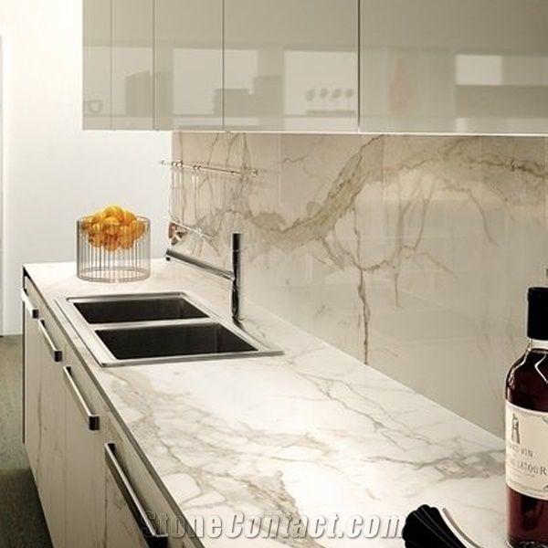 Carrara Marble Kitchen Benchtops: Calacatta Marble Countertops