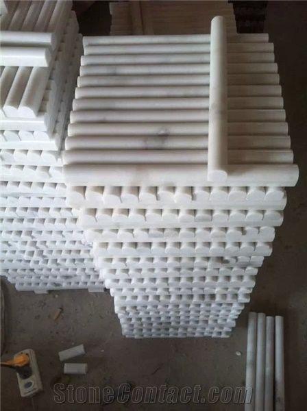 china guangxi white marble pencil