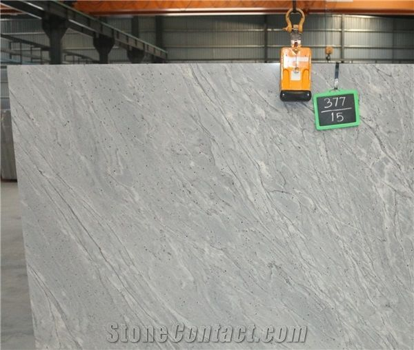 Thunder White Granite Slabs Tiles From India