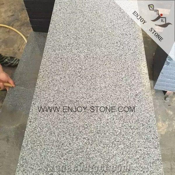 unpolished china grey granite slabs