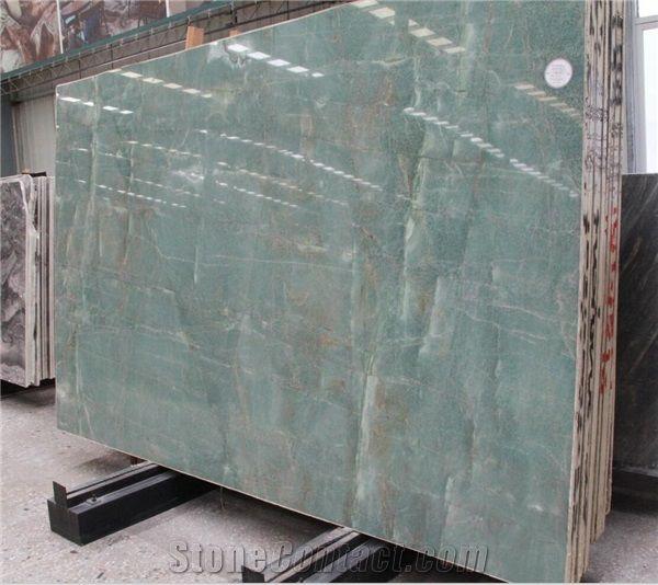 green jade onyx china stone tile slab
