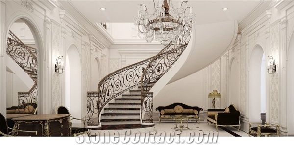 Circular Stairs Marble Spiral Stairs From Germany Stonecontact Com   Spiral Deck Mate Stair   Powder Coated   Trex Spiral   Stair Treads   Stair Case   Staircase Kits
