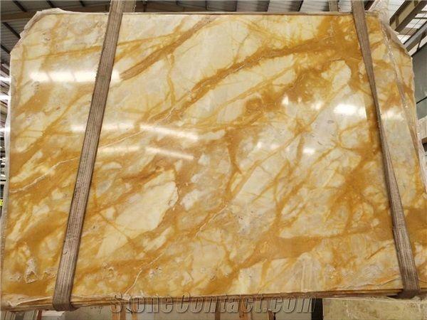 giallo siena marble slabs golden marble