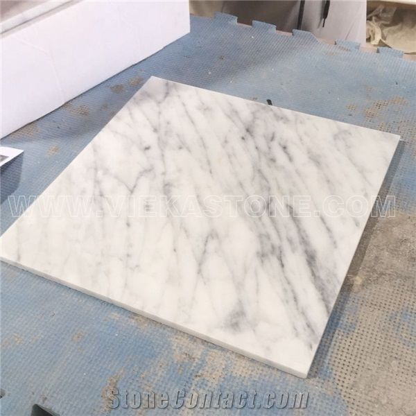 carrera marble tile slab for wall floor
