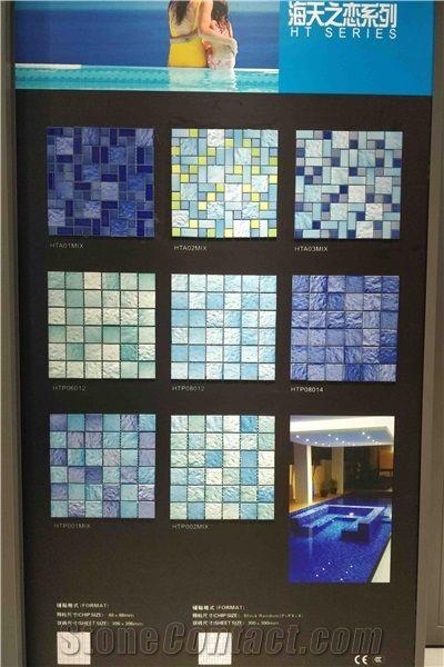 porcelain mosaic tile pool mosaic tile