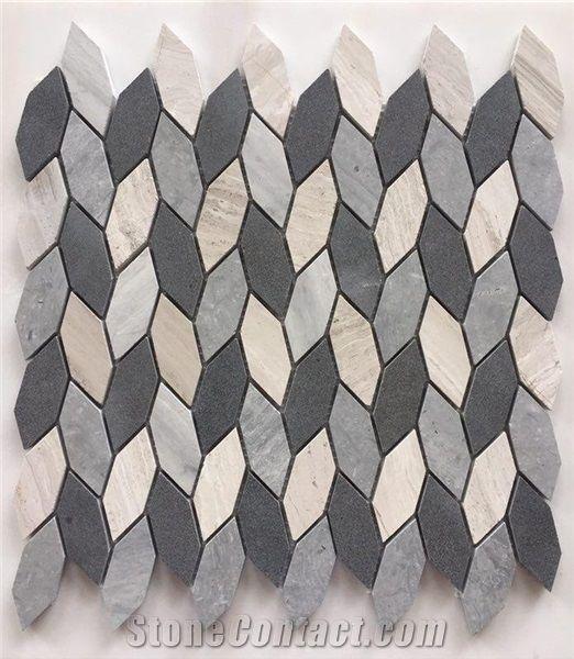 cheap irregular leaf shape marble