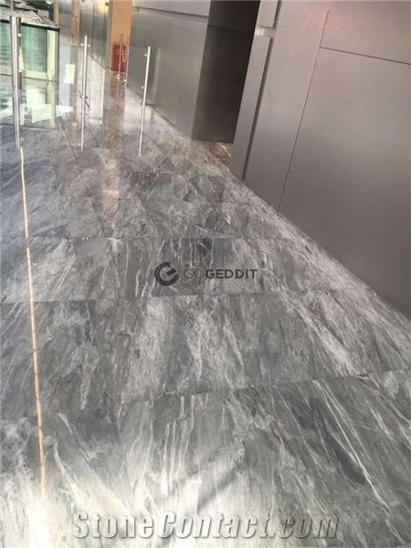 bardiglio nuvolato marble floor tile